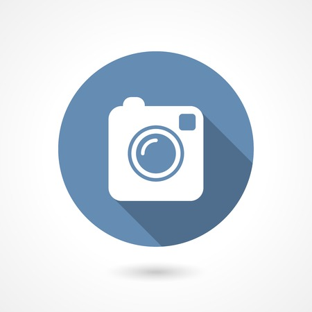 Illustration camera icon Vector
