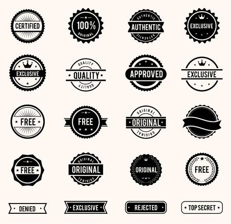 sellos: Sellos de establecer