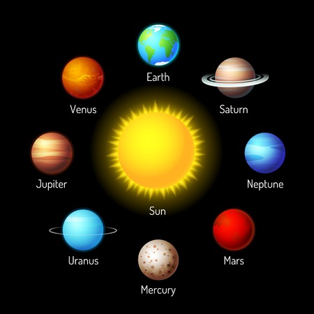 cosmo: planets icons