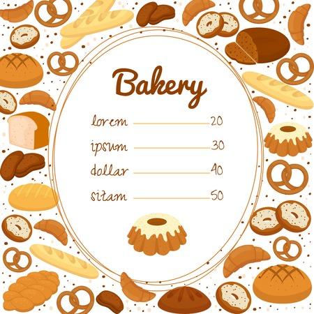 bakery price: Bakery menu or price poster