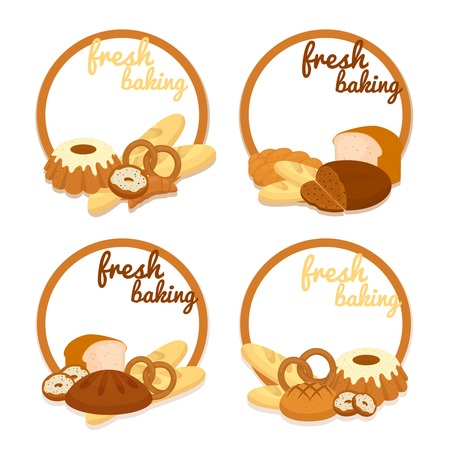 bakery price: Fresh Baking price badges