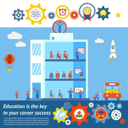 building: Seamless Vector Education to Success Design