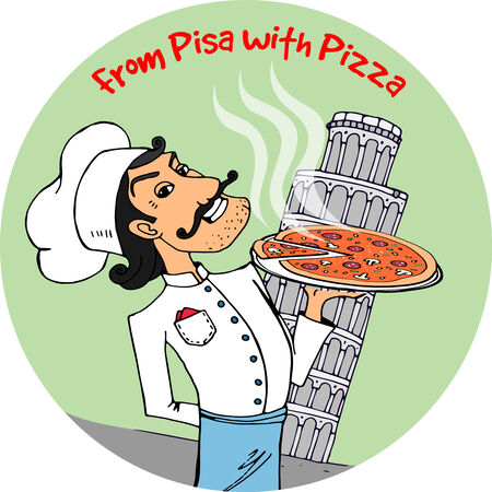 tower of pisa: From Pisa with Pizza
