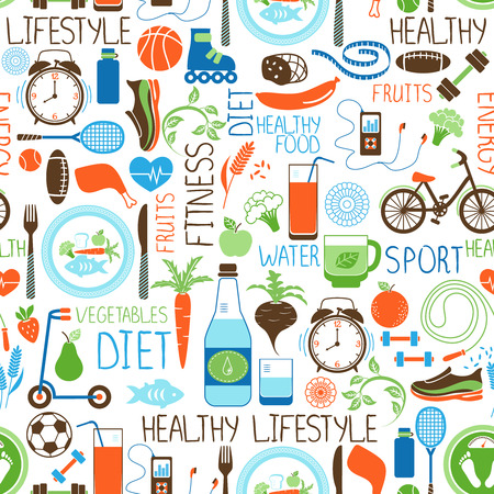 Sport, Diet and Fitness pattern