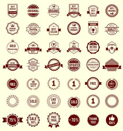 Vector Variety Designs Retro Vintage Banners