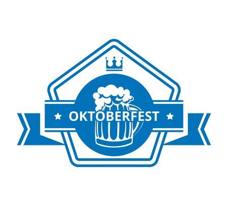 Oktoberfest Label Vector