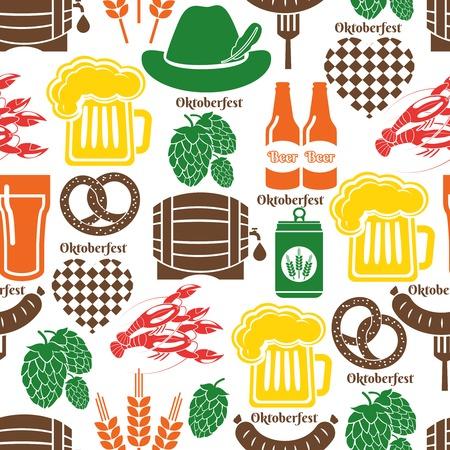 barrel tile: Oktoberfest pattern