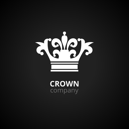 crown logo: Crown logo Illustration