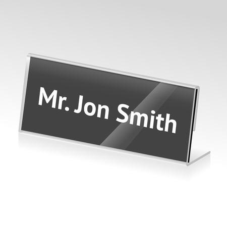 sign holder: card holder
