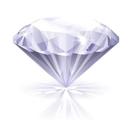 photo realism: diamond icon