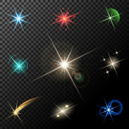 sparkles: lights, stars and sparkles