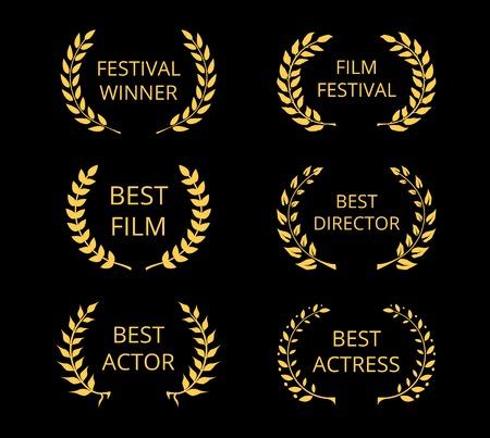 Premios del Cine Foto de archivo - 31848591