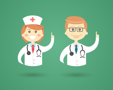 medical man: Professions - Doctor and Nurse