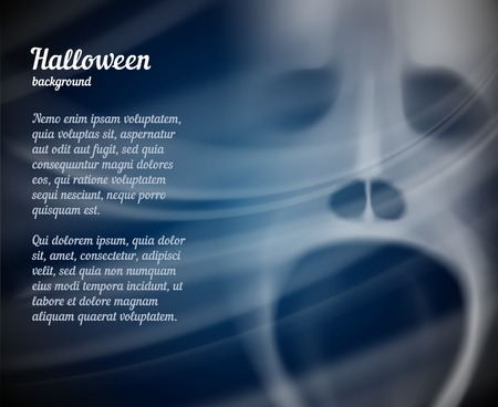 grotesque: Halloween background with copyspace for text
