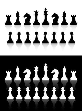 chess set: chess icons