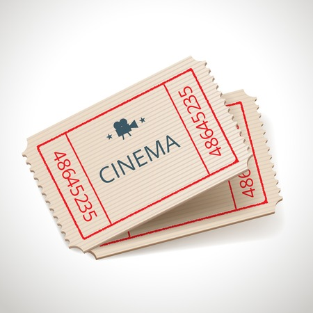 retro tickets Vector
