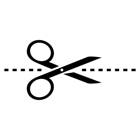vector scissors icon