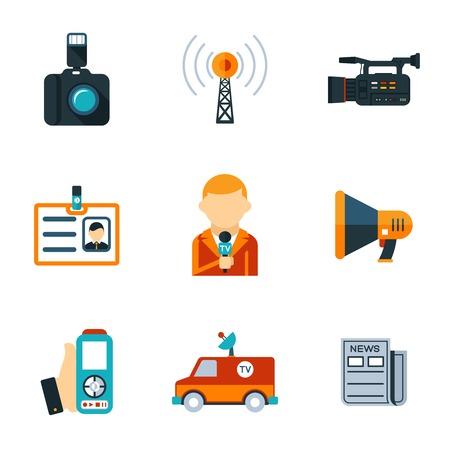 peri�dico: Assorted Jornalismo planas �cones
