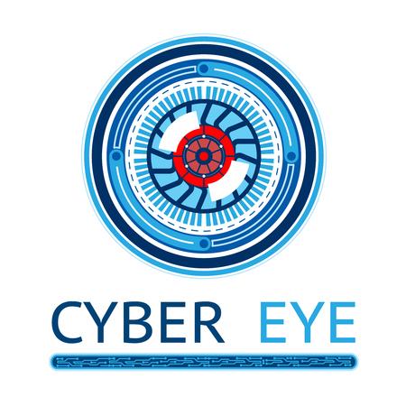 espionage: Creative Cyber Eye illustration