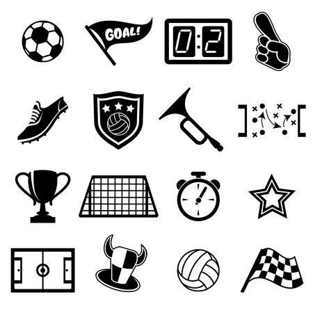 soccer net: football fans icons