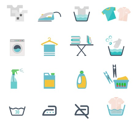 steam bath: Laundry Symbols