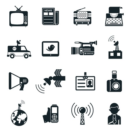 news van: News and Media Icons