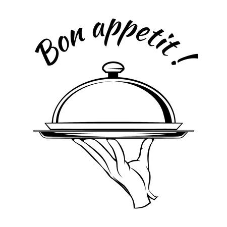 Bon Appetit delicious dish element