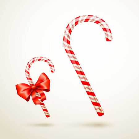 candycane: Christmas Candy Cane Illustration
