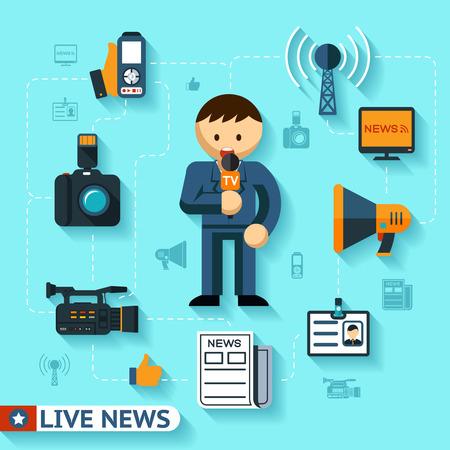Elementi di notizie e mass media