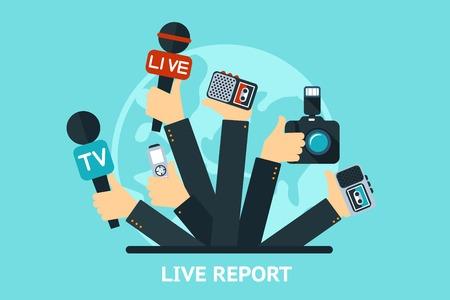live report concept