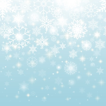 pale: Beautiful Snowflakes in Seamless Pattern Design