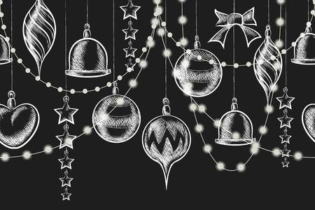 christmas beads: Christmas Chalkboard Ornament