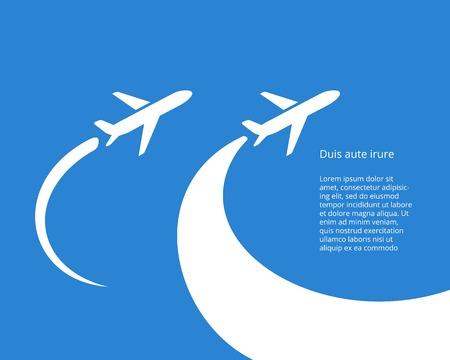 Airplane icon vector design Illustration