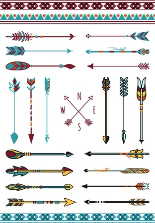 feathered: Indian arrows for hipster decor