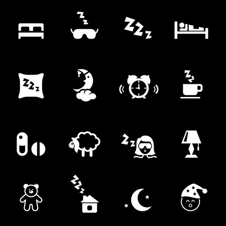 sleep: Bed time icons