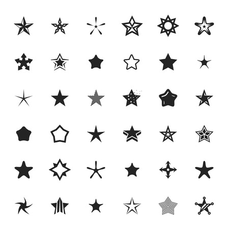 star award: vector star icons