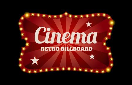 Cinema segno o cartellone Archivio Fotografico - 34568272