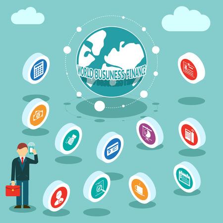 international monitoring: World Business Finances