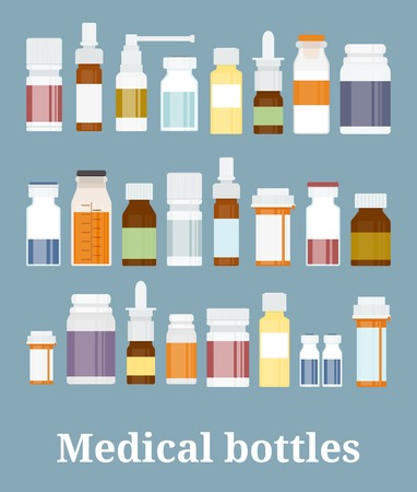 medicine: Medicine bottles collection