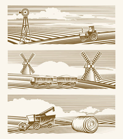 농업 풍경