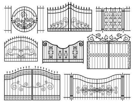 iron fence: Iron Gates Icons