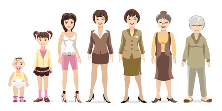 femme dessin: g�n�rations de femme