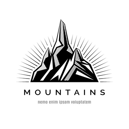 Mountains icon