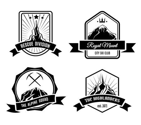 Mountain badges Vector