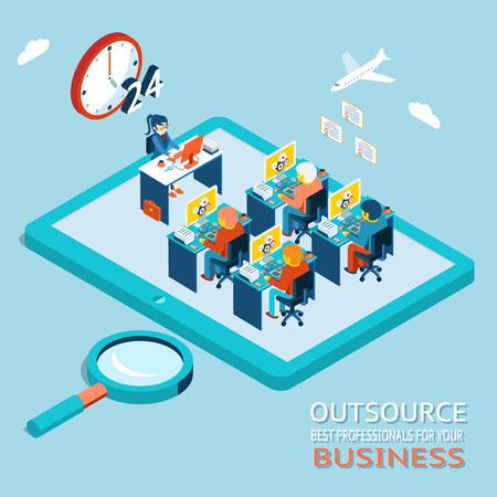 outsourcing: Outsource best professionals for your business. Global Work Marketplace in Web