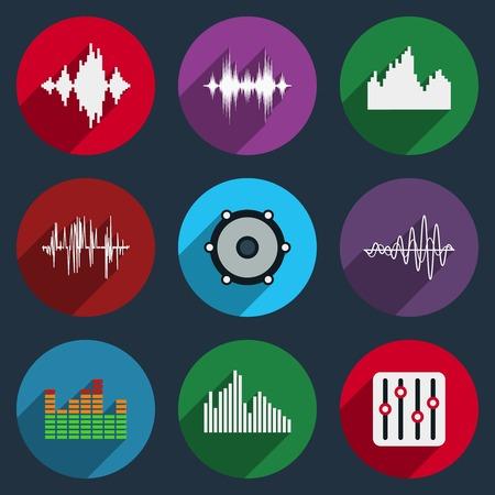 soundwave: Music soundwave icons