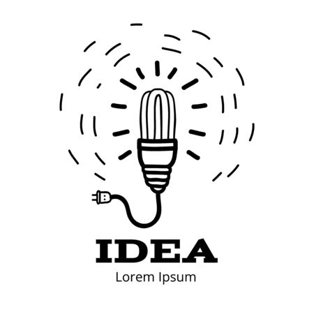 heuristics: Creative light bulb idea concept