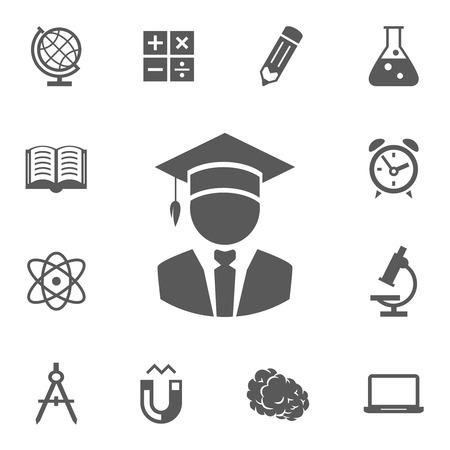 Vector education icons Vector