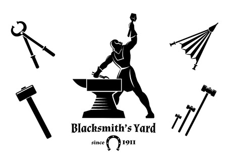craftsmen: Vintage blacksmith