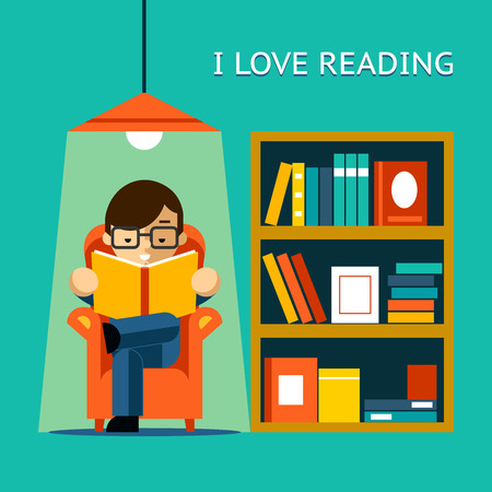 libraries: I Love Reading